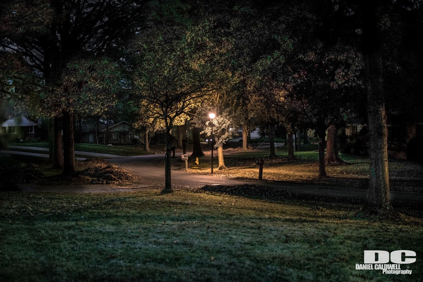 Night time neighborhood | ThePhotoForum: Film & Digital