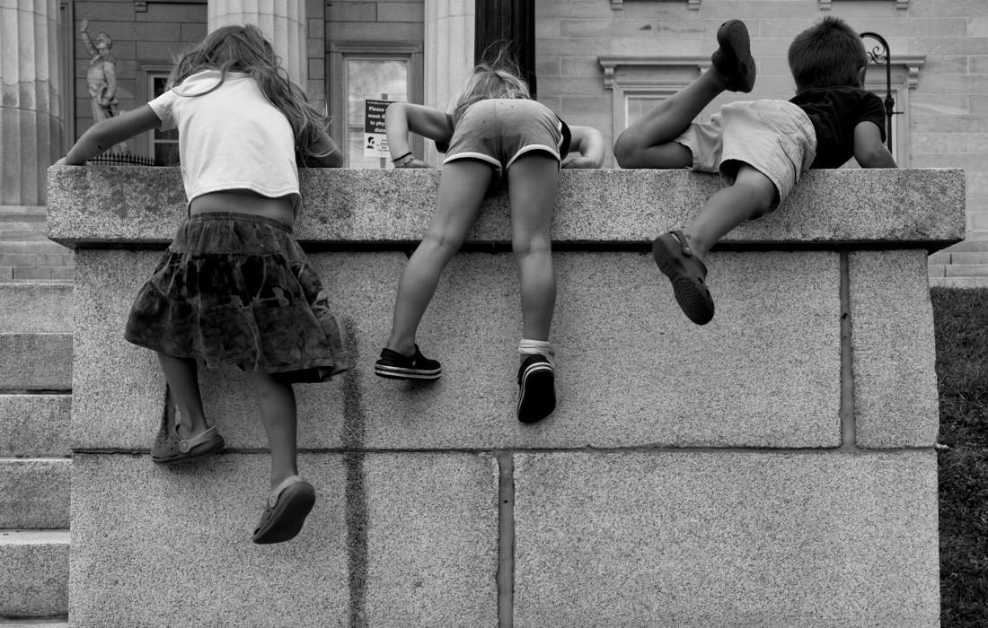 kids climbing the wall at montpelier capital.jpg