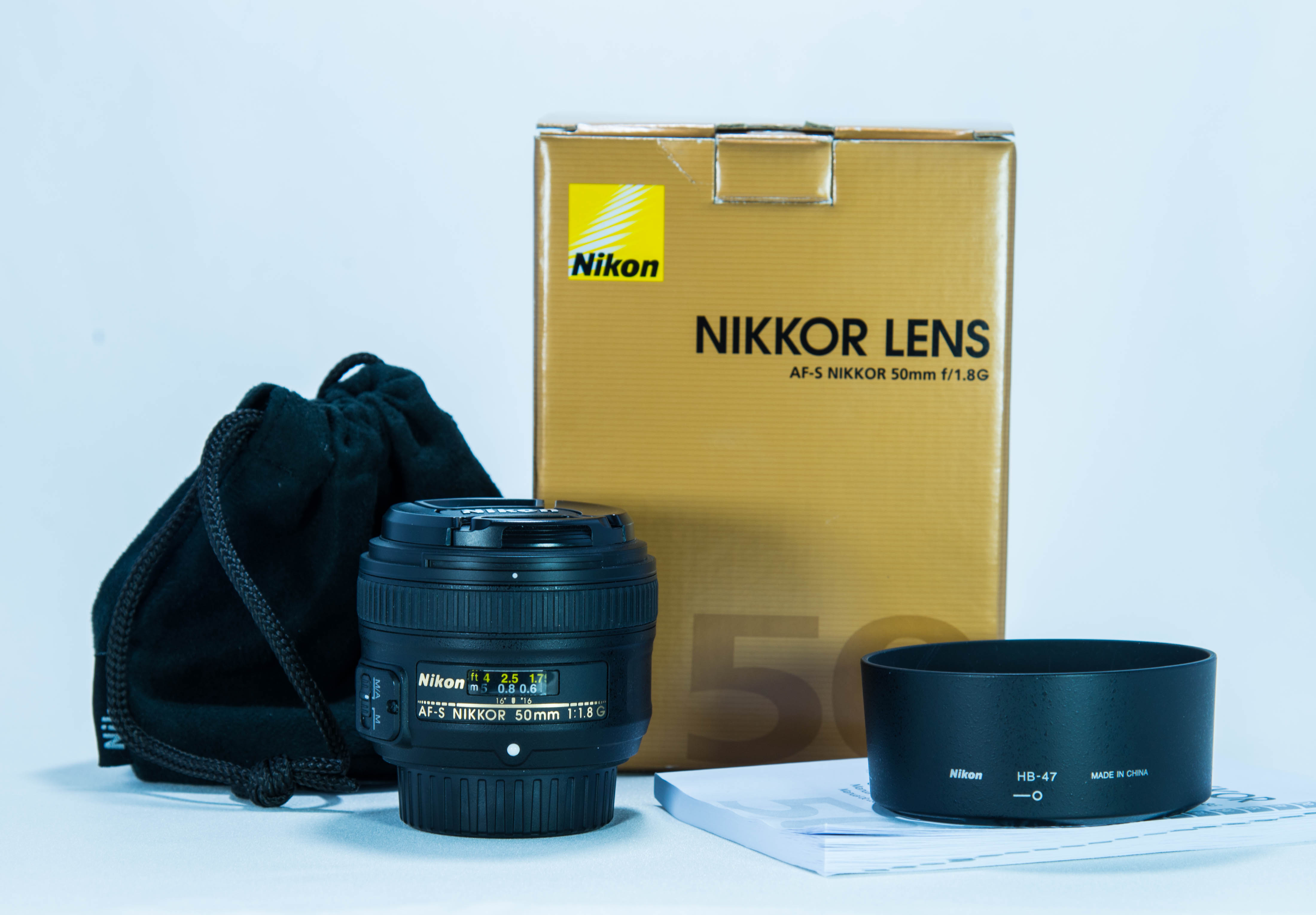 Nikon Af S 50mm 18g Thephotoforum Film Digital Photography Forum Lens With Box