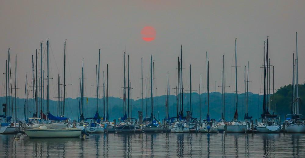 Sunrise Over Boat Dock 1 (1 of 1).jpg