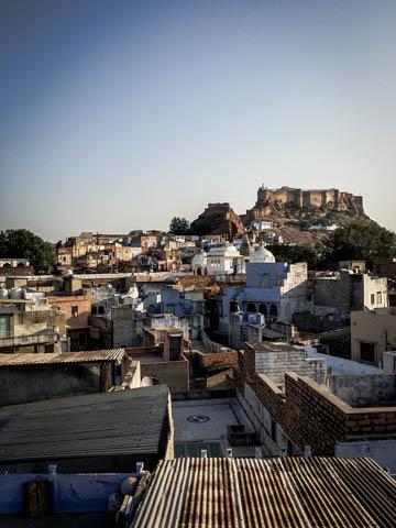 Breakfast View - Jodhpur