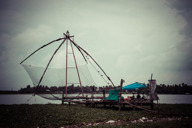 Chinese Fishing Nets - Cochin