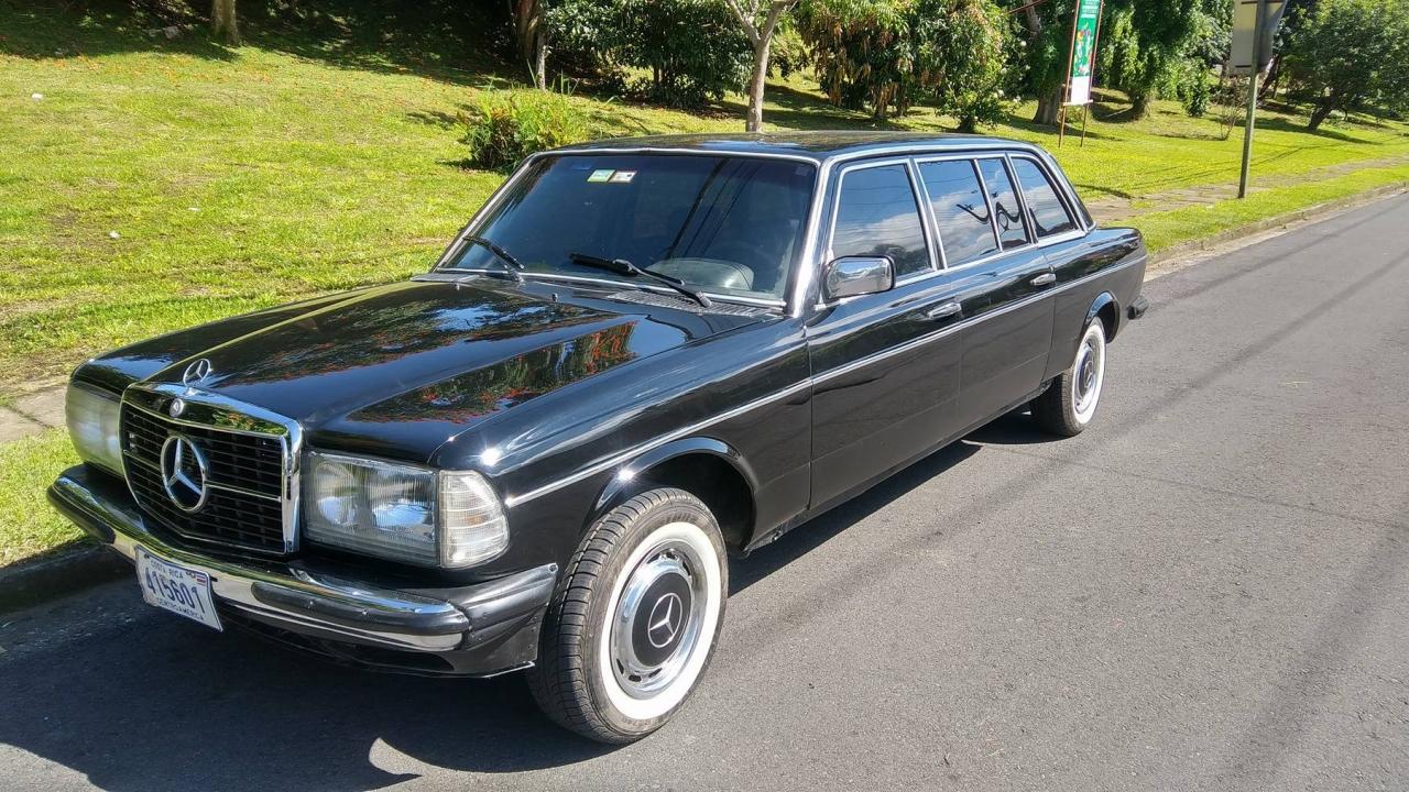 Photo Mercedes Limousine Costa Rica W123 In The Album 10 Years