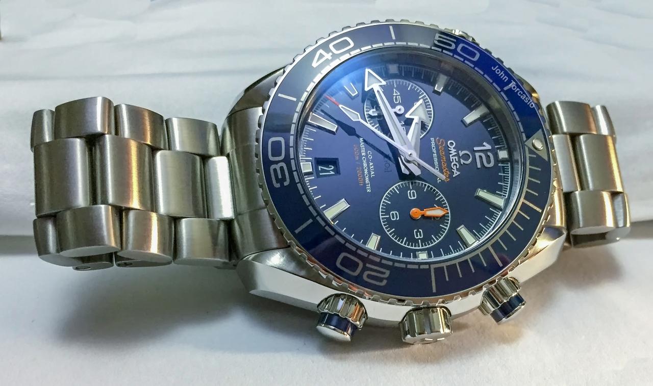 Omega Seamaster Planet Ocean Master Chronometer