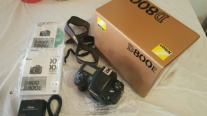 Used Nikon D800E DSLR Camera with 24-70mm