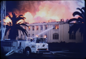 Mesa High School Fire - October 1st 1967 (found slides)