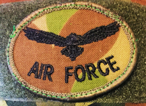 (RAAF) biscuit patch for DPCU