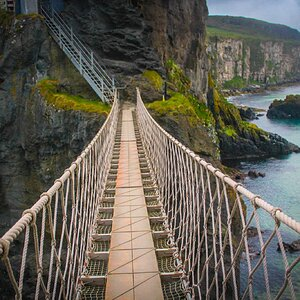 Northern Ireland, Carrick-A-Rede Rope Bridge
